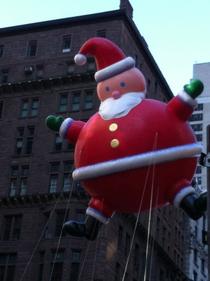 Macy's Thanksgiving Day Parade Prof. Torg 2011 New York City