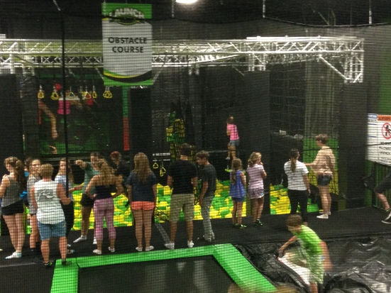 Launch Trampoline Park, Asheville