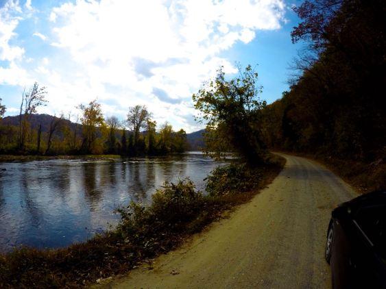 River Road, Hot Springs, North Carolina, Appalachian Trail, AT