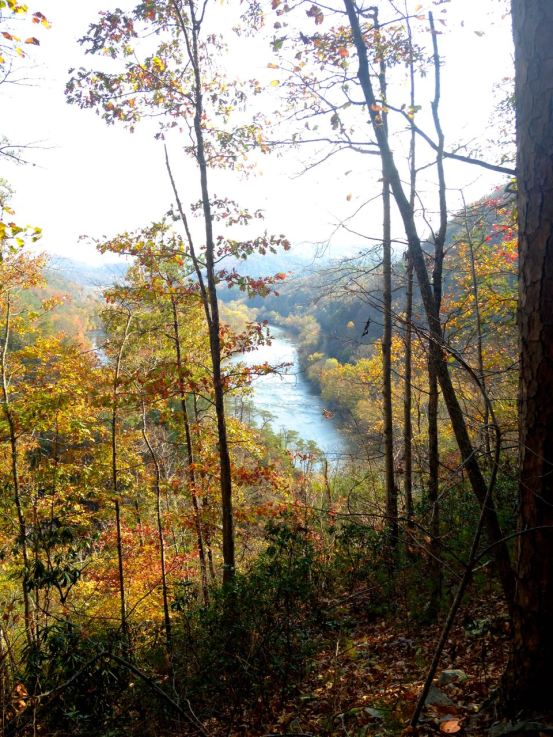 Paint Rock, North Carolina, French Broad River
