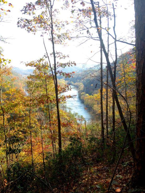 Paint Rock, North Carolina, French Broad River