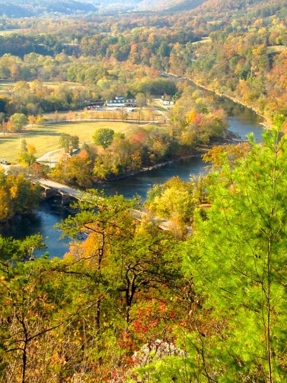Hot Springs, NC, resort, AT, French Broad River