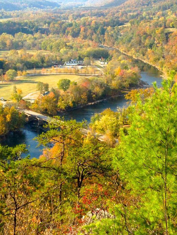 Hot Springs, NC, resort, AT, French Broad River