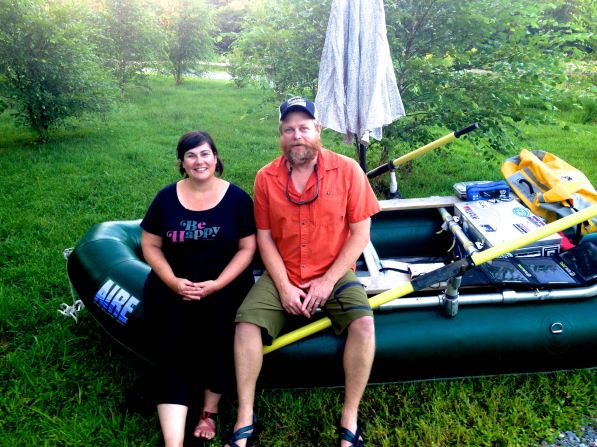Yukon and Bean, French Broad River, rafting, kayaking, Brevard, Rosman, Asheville