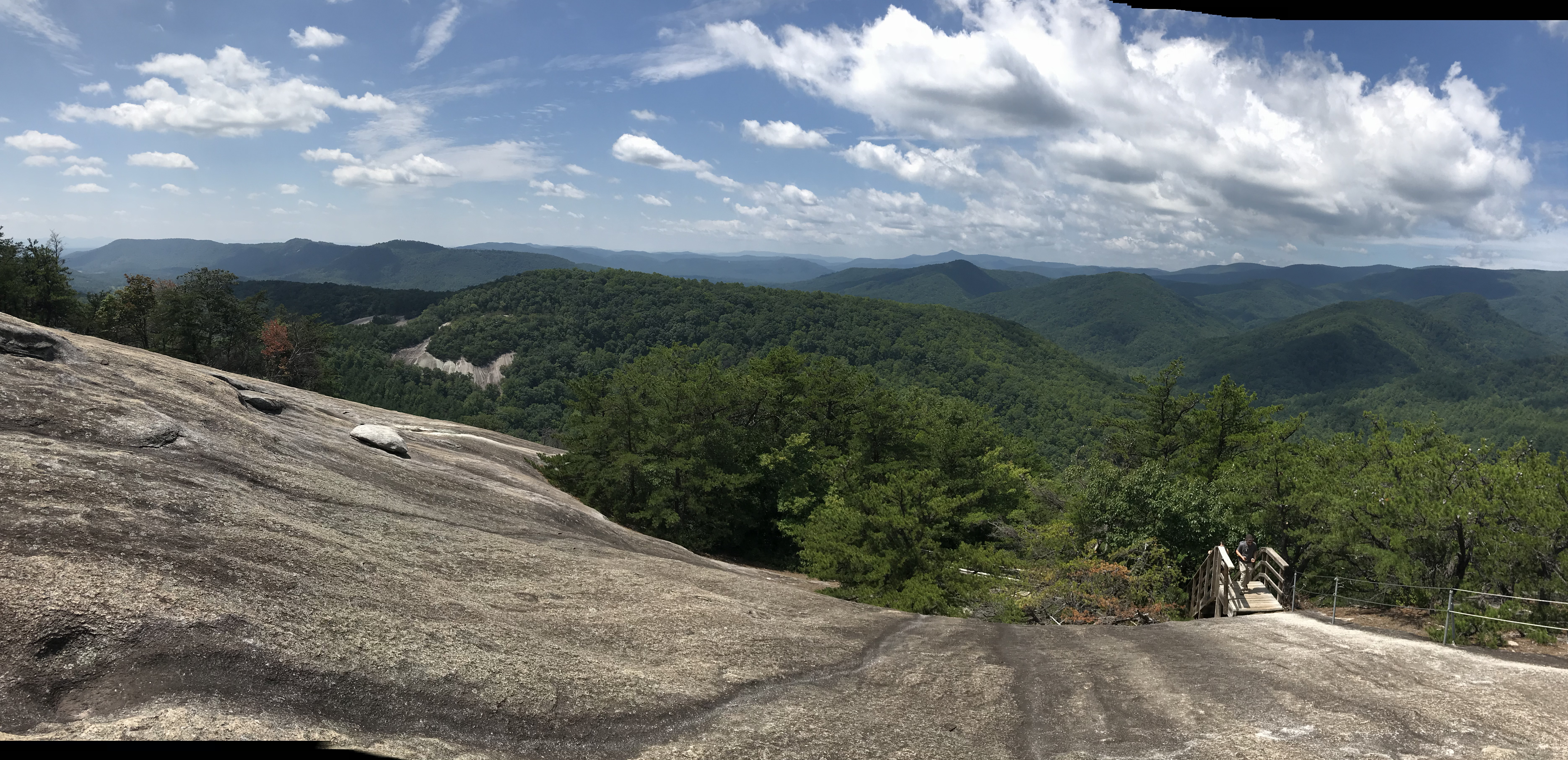 Stone Mountain from Hutchinson Settlement, Roaring Fork, North Carolina, Life in Boone