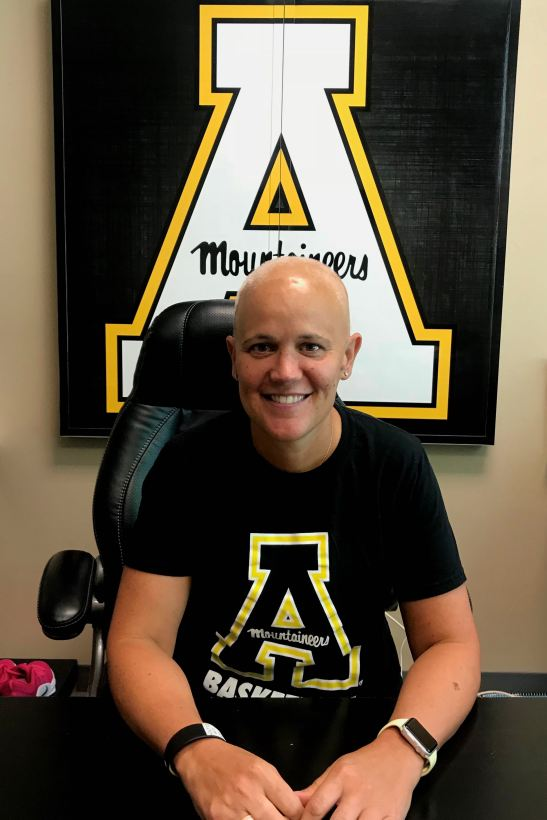Angel Elderkin Appalachian State University Women's Basketball Coach