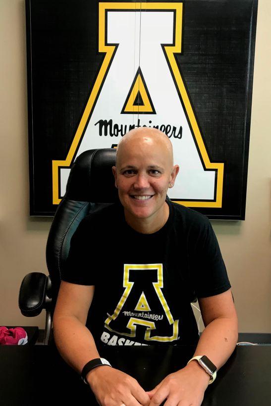 Angel Elderkin Appalachian State University Women's Basketball Coach