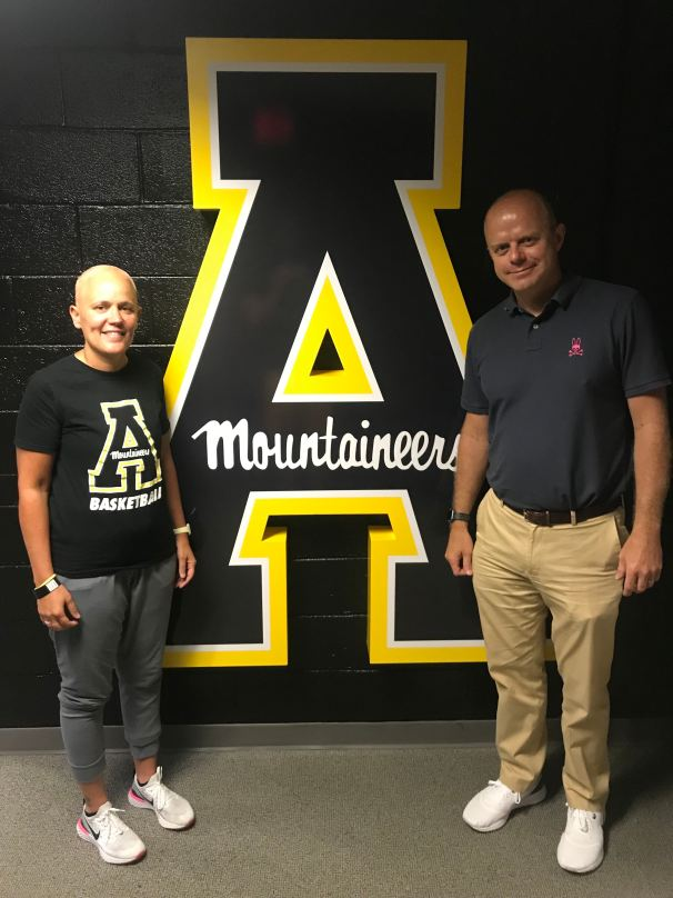 Angel Elderkin and Bill Torgerson Appalachian State University