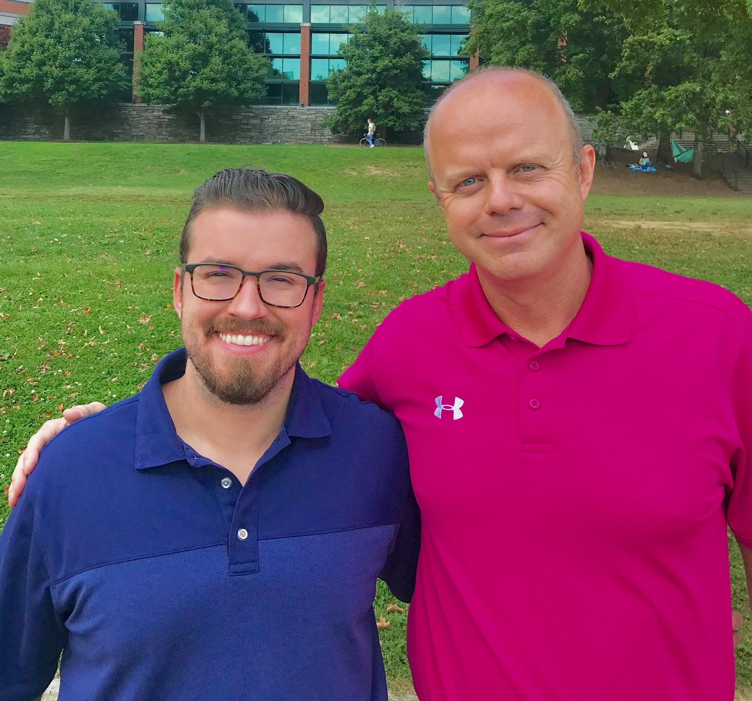 Ethan Joyce and Bill Torgerson. Appalachian State University. Winston Salem Journal. football