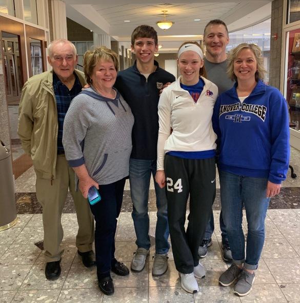 Kent Chezem and family