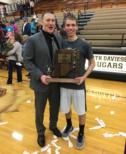 Kent and Cade Chezem sectional championship